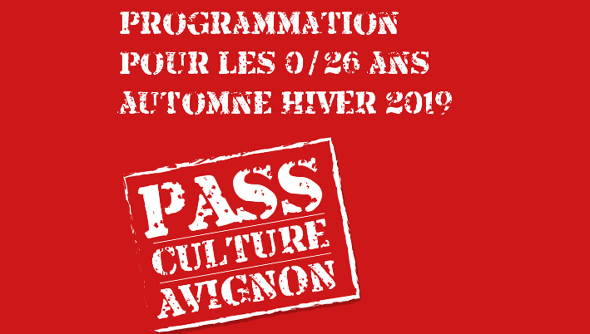 visuel du Pass Culture avignon